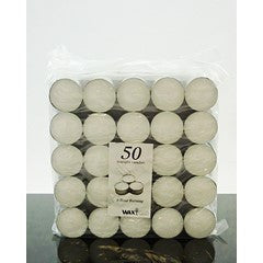 9 Hour tealight candles - 50 pack