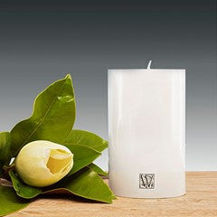 100mm x 150mm pillar candle – white