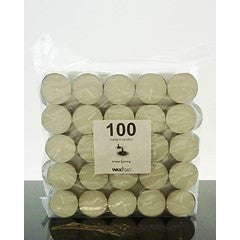 4 Hour tealight candles - 100 pack
