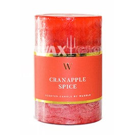 50mm x 75mm 'W' Collection - scented pillar candle