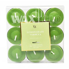 9 pack of tea lights - 'W' Collection
