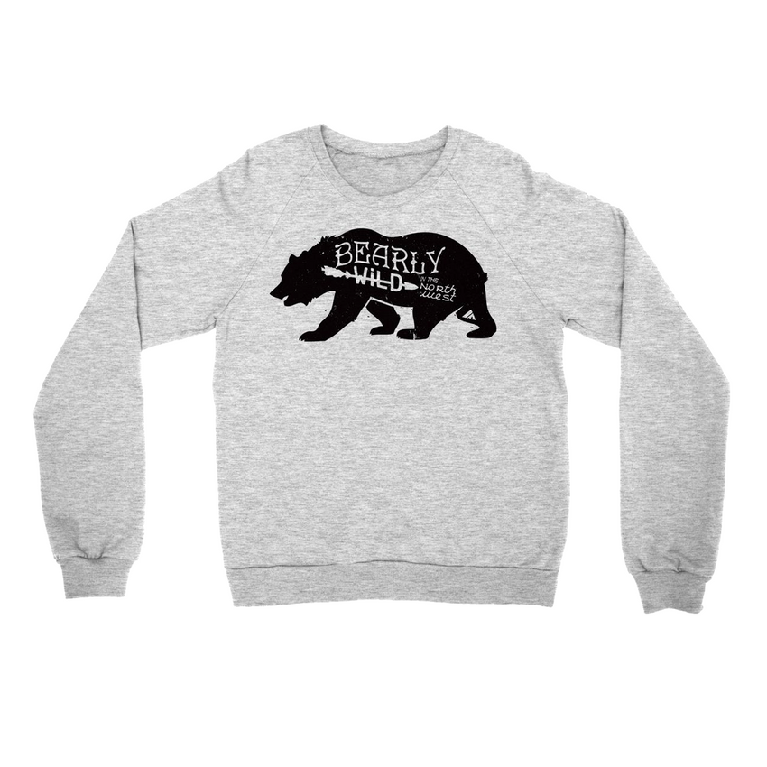 Bearly Wild Sweater -Apparel in the Great Pacific Northwest