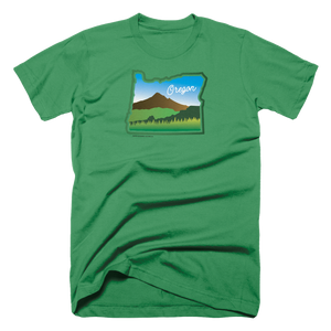 Beautiful Oregon Unisex Tee