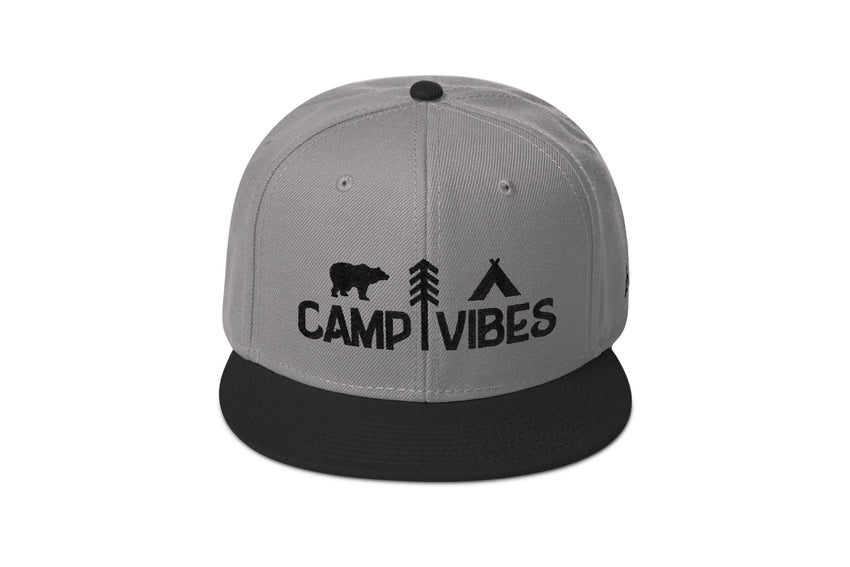 Camp Vibes Pro Snapback -Apparel in the Great Pacific Northwest