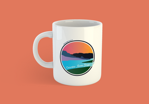 Columbia River Gorge Mug -Apparel in the Great Pacific Northwest