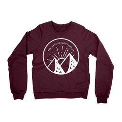 Handlettered Pacific Northwest Sweater
