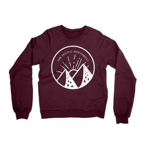 Handlettered Pacific Northwest Sweater -Apparel in the Great Pacific Northwest