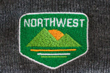 Northwest Pom Pom Knit Beanie -Apparel in the Great Pacific Northwest
