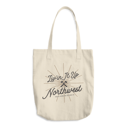 Liv'in It Up Northwest Tote Bag