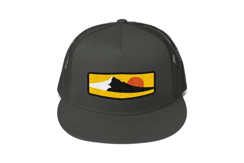 Mt. Hood Mesh Snapback -Apparel in the Great Pacific Northwest