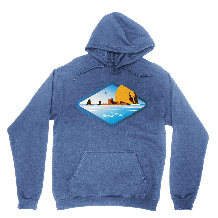 The Oregon Coast Hoodie -Apparel in the Great Pacific Northwest