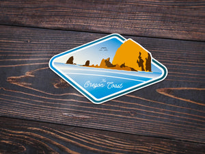 The Oregon Coast Sticker -Apparel in the Great Pacific Northwest