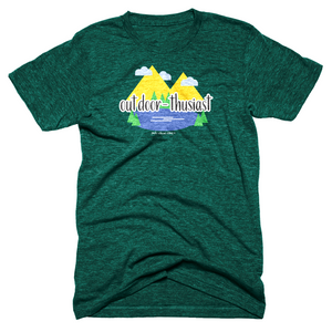 Outdoor-thusiast Unisex Tee -Apparel in the Great Pacific Northwest