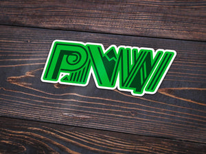 Recreation PNW Vinyl Sticker -Apparel in the Great Pacific Northwest