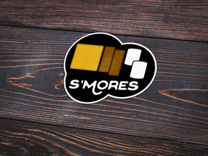 S'mores Vinyl Sticker