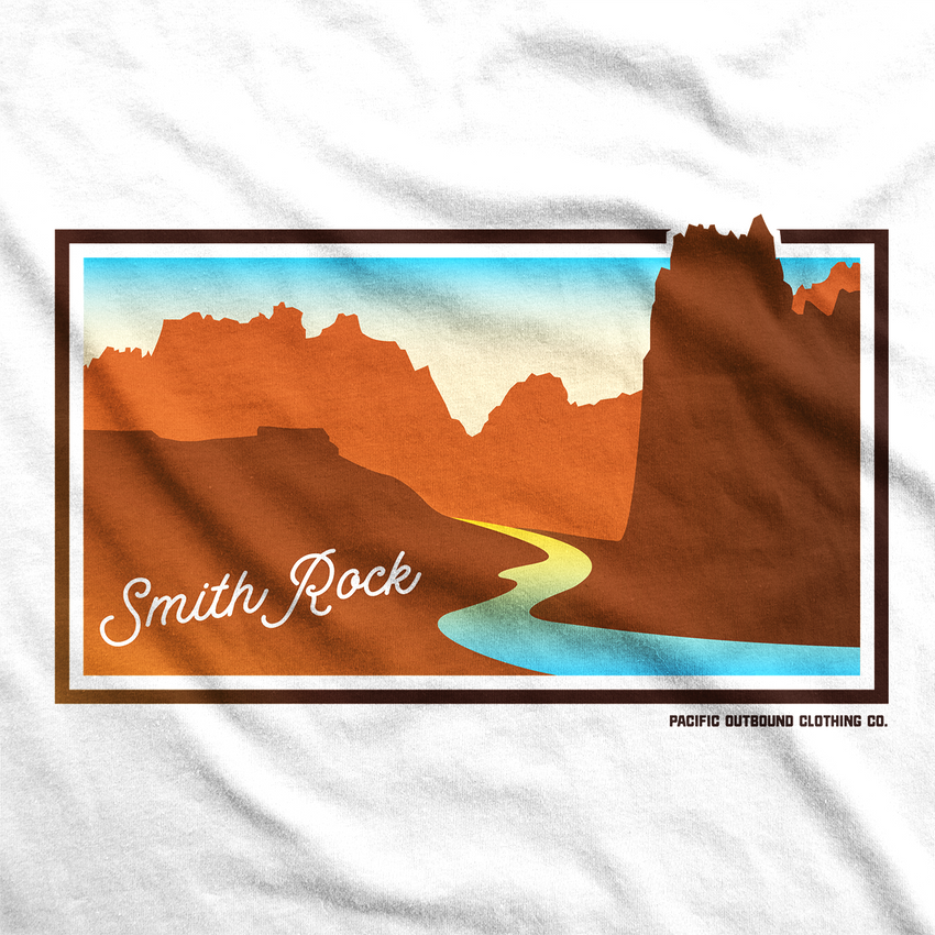 Smith Rock Unisex Tee -Apparel in the Great Pacific Northwest