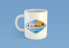 The Oregon Coast Coffee Mug -Apparel in the Great Pacific Northwest