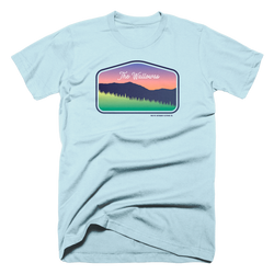 The Wallowas Unisex Tee -Apparel in the Great Pacific Northwest