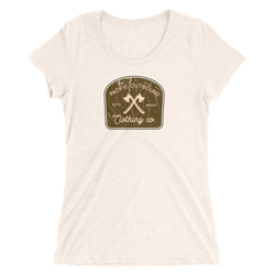 The Woodsman Womens Tee -Apparel in the Great Pacific Northwest