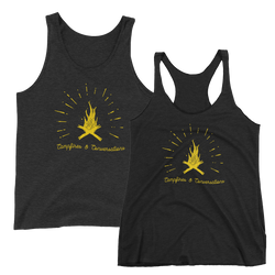 Campfires & Conversations Tank -Apparel in the Great Pacific Northwest