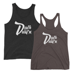 Death Before Decaf Tank -Apparel in the Great Pacific Northwest