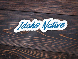 Idaho Native Vinyl Sticker