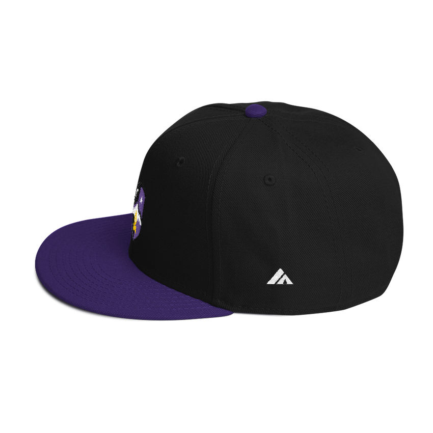 Midnight Campfires Pro Snapback -Apparel in the Great Pacific Northwest