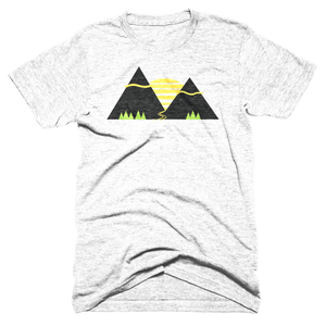 Mountain Sunset -Apparel in the Great Pacific Northwest