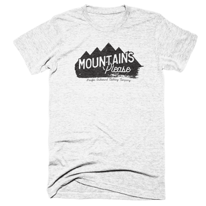 Mountains Please -Apparel in the Great Pacific Northwest