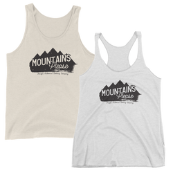 Mountains Please Tank -Apparel in the Great Pacific Northwest