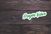 Oregon Native Vinyl Sticker -Apparel in the Great Pacific Northwest