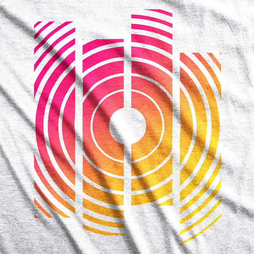 Radial Sunrise Unisex Tee -Apparel in the Great Pacific Northwest