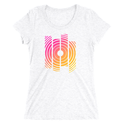 Radial Sunrise Womens Tee -Apparel in the Great Pacific Northwest