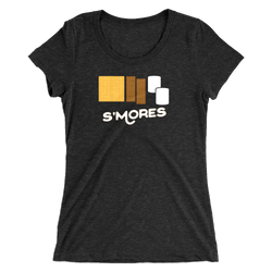 S'mores Womens Tee -Apparel in the Great Pacific Northwest