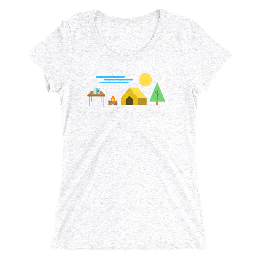 Sweet Serenity Womens Tee -Apparel in the Great Pacific Northwest
