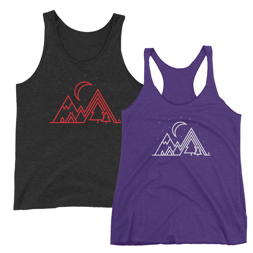 Under the Stars Tank -Apparel in the Great Pacific Northwest