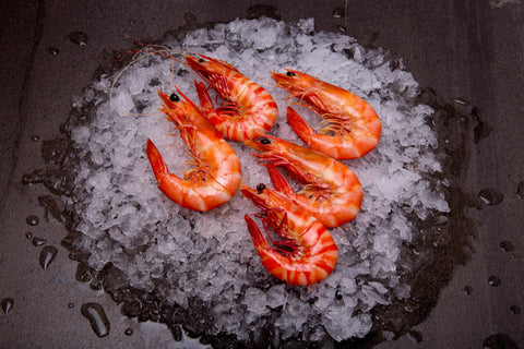 Mixed King & Tiger Prawns Cooked Large ($42.90/kg)