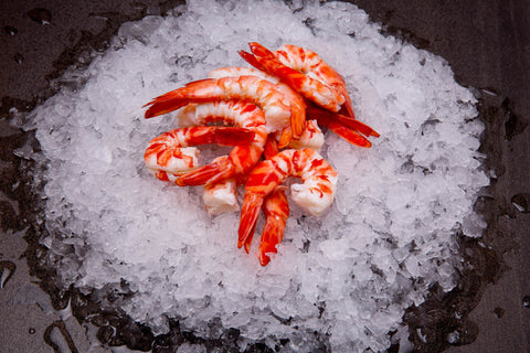 Peeled Mixed King & Tiger Prawns Cooked ($89.90/kg)