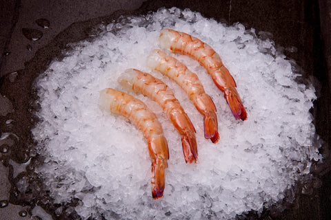 Peeled King/Tiger Prawns Green Large ($69.90/kg)