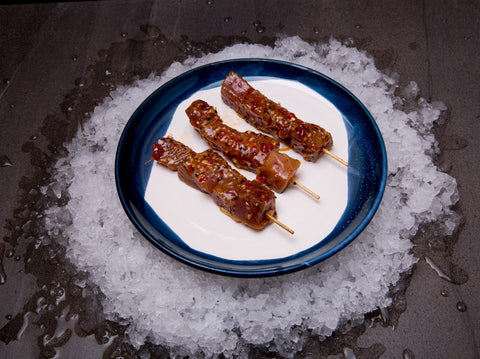 Chilli & Lemon Pepper Tuna Skewers