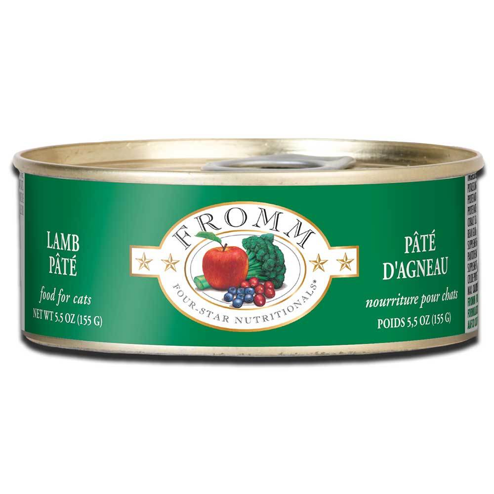 Fromm Four Star Nutritionals lamb pate