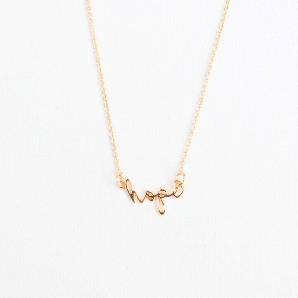 Gold Luxe Inspirational Necklaces