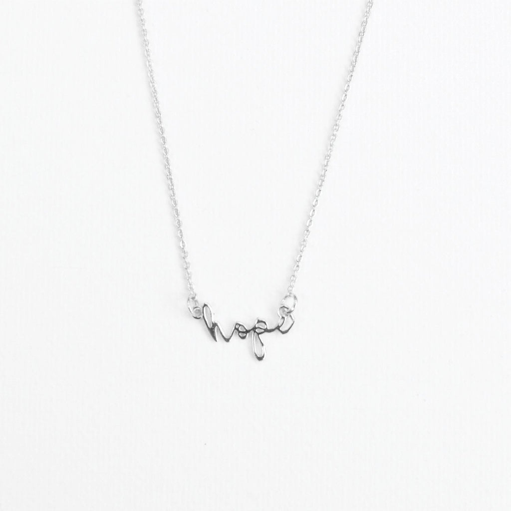 Silver Luxe Inspirational Necklaces