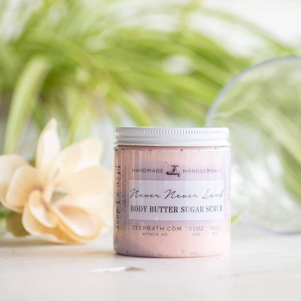 Never Never Land Body Butter Sugar Scrub