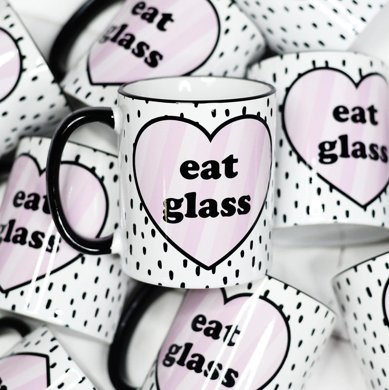 Eat Glass Mug