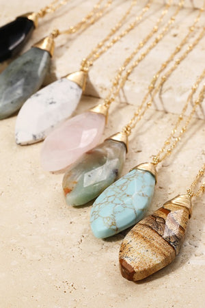 Au Natural Stone Necklace