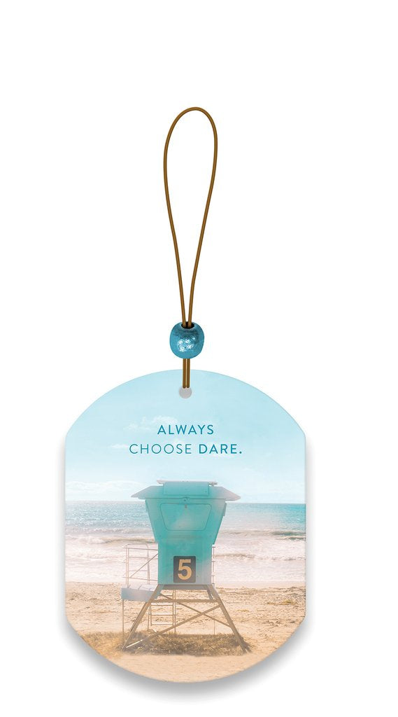 Always Choose Dare Car Air Freshener - Island Coconut