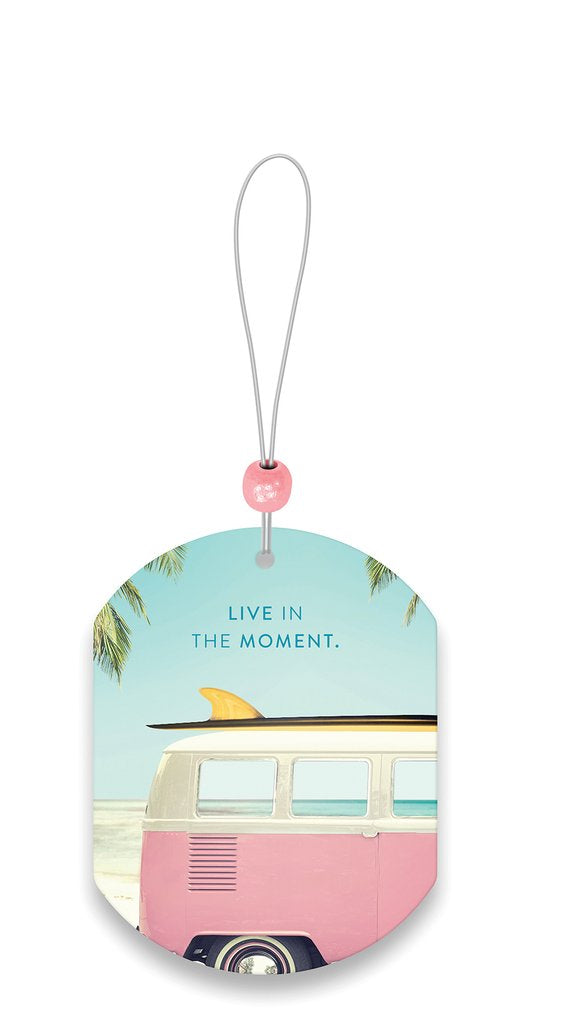 Live in the Moment Car Air Freshener - New Car