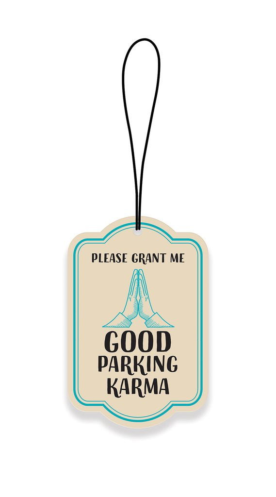 Parking Karma Car Air Freshener - Scenic Route
