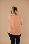 Girls Don't Sweat Sweater In Apricot